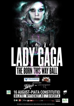 lady gaga romania ticket news